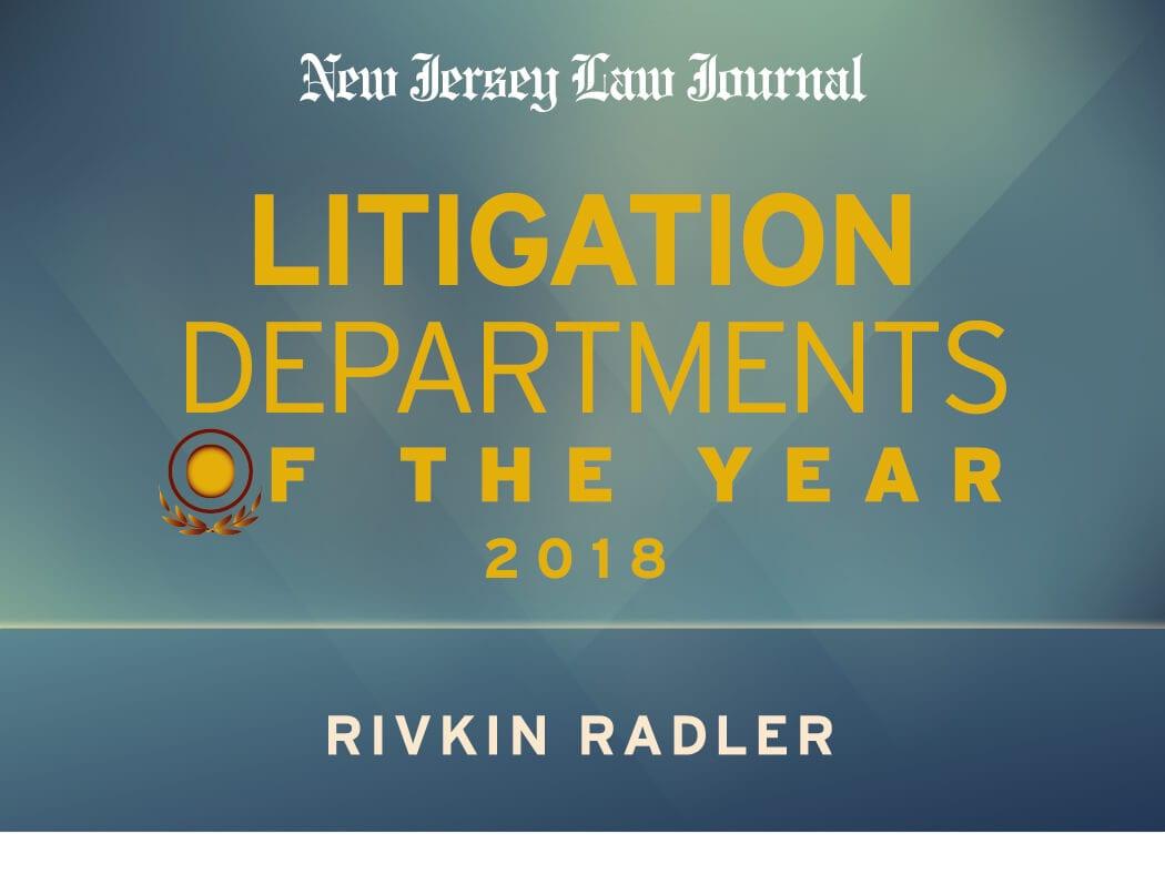 litigation department
